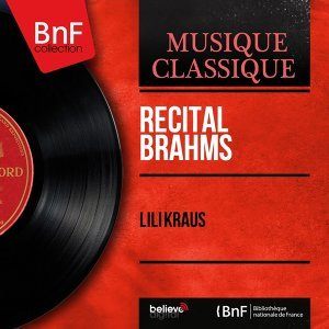 Récital Brahms - Mono Version