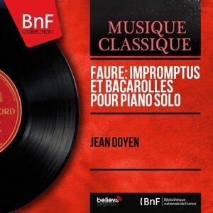 Fauré: Impromptus et bacarolles pour piano solo - Mono Version