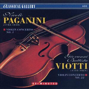 Paganini: Violin Concerto No. 1 - Viotti: Violin Concerto No. 22