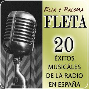 20 Éxitos Musicales De La Radio En España. Elia Y Paloma Fleta