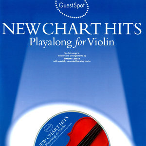Playalong for Violin: New Chart Hits
