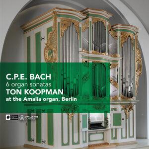 C.P.E. Bach: 6 Organ Sonatas