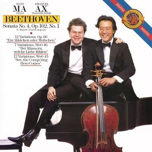 Beethoven: Cello Sonata No.4; Variations (Remastered)