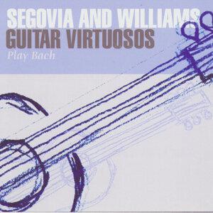 Segovia And Williams: Guitar Virtuosos Play Bach