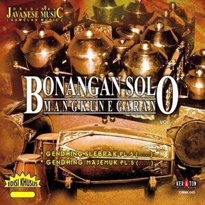 Original Javanese Music: Bonangan Solo Mangkunegaran, Vol. 1