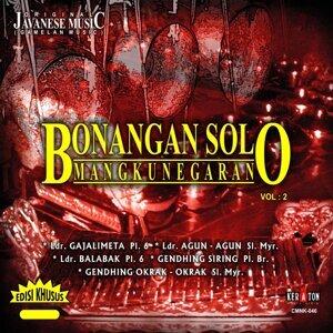 Original Javanese Music: Bonangan Solo Mangkunegaran, Vol. 2