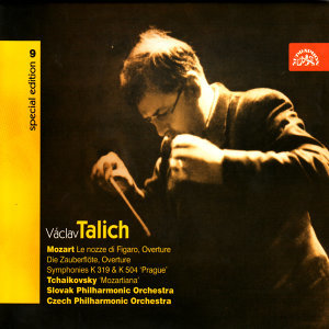 Talich Special Edition 9 Mozart: Overtures (Le nozze di Figaro, Die Zauberflöte), Symphonies Nos 33 & 38 / Czech PO