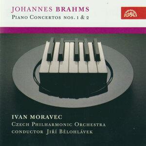 Brahms : Piano Concertos No. 1 in D minor and No. 2 in B flat major / Moravec, CPO/ Bělohlávek