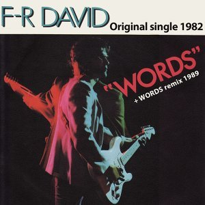 Words - Original Single 1982