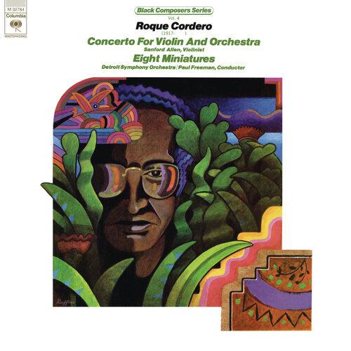 Black Composer Series, Vol. 4: Roque Cordero - Remastered