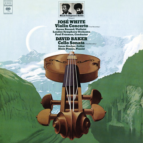 Black Composer Series, Vol. 6: José White & David Baker - Remastered