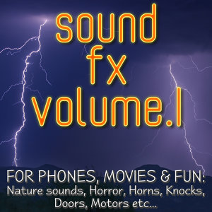 Sound FX Vol.1 for phones, movies & fun
