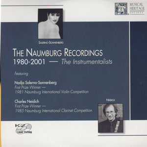 The Naumberg Recordings, 1980-2001: The Instrumentalists, Vol. 6 - Jorge Caballero