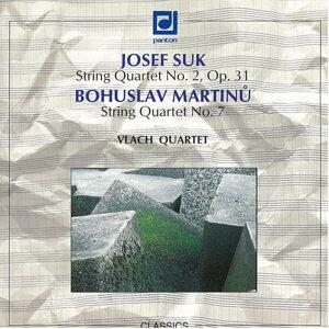 Suk / Martinu:  String Quartets