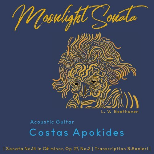 Piano Sonata No. 14 in C-Sharp Minor, Op. 27, No. 2 ''Moonlight Sonata'': I Adagio sostenuto (Arr. for Acoustic Guitar)
