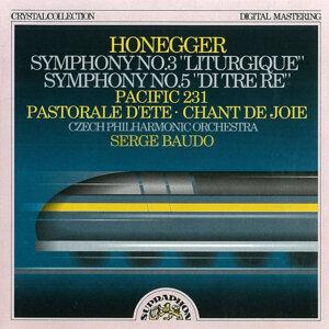 Honegger: Symphonies No. 3 Liturgique and No. 5, Pacific 231
