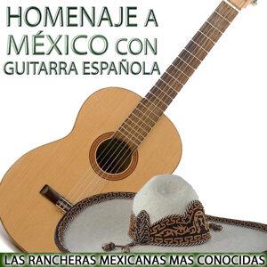 Homenaje a México Con Guitarra. Las Rancheras Mexicanas Mas Conocidas