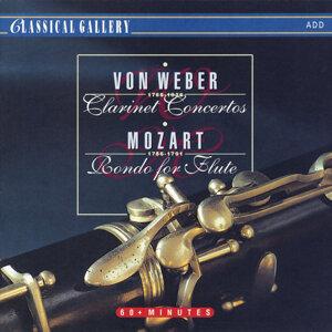 Von Weber: Clarinet Concertos - Mozart: Rondo for Flute
