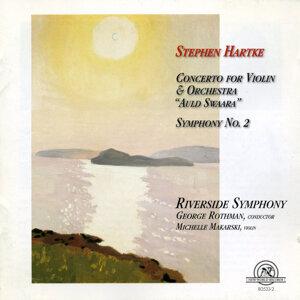 Stephen Hartke: Concerto For Violin & Orchestra; Symphony No. 2