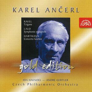 Ancerl Gold Edition 17  Ravel:  Tzigane / Lalo:  Symphony Espagnole / Hartmann:  Concerto Funebre