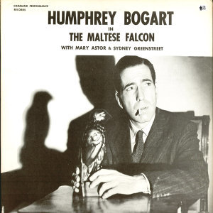 Humphrey Bogart in the Maltese Falcon and the Front Page