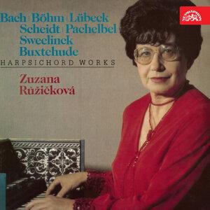 Bach, Böhm. Lübeck, Scheidt, Pachelbel, Sweelinck, Buxtehude: Harpsichord Works