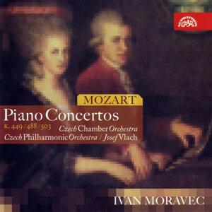 Mozart : Piano Concertos / Moravec, Czech Chamber Orch., CPO/Vlach