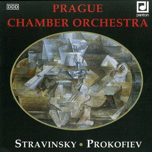 "Stravinsky:  Pulcinella. Orchestral Suite from the Ballet / Prokofiev:  Symphony No. 1 in D major ""Classical"", Op. 25"