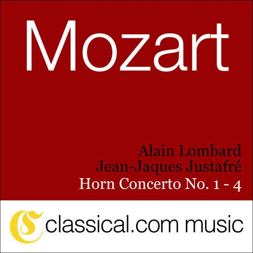 Wolfgang Amadeus Mozart, Horn Concerto No. 1 In D, K. 412