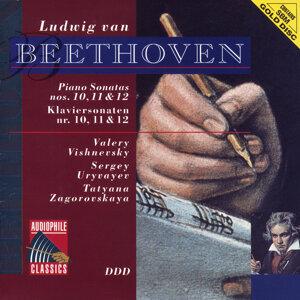 Beethoven: Piano Sonatas Nos. 10, 11 & 12