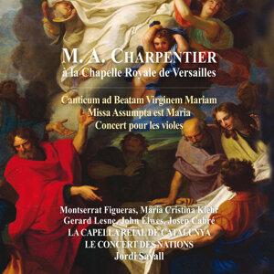 Charpentier à la chapelle royale de Versailles