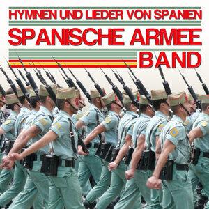 Hymnes und Lieder von Spanien. Spanische armee Band