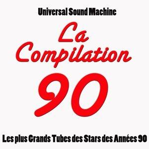 La compilation 90 - Les 50 plus grands tubes des stars des années 90
