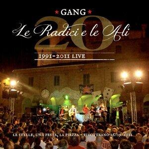 Le radici e le ali - Venti di Gang 1991-2011 Live, Le stelle, una festa, la piazza 16 / 09 / 2011