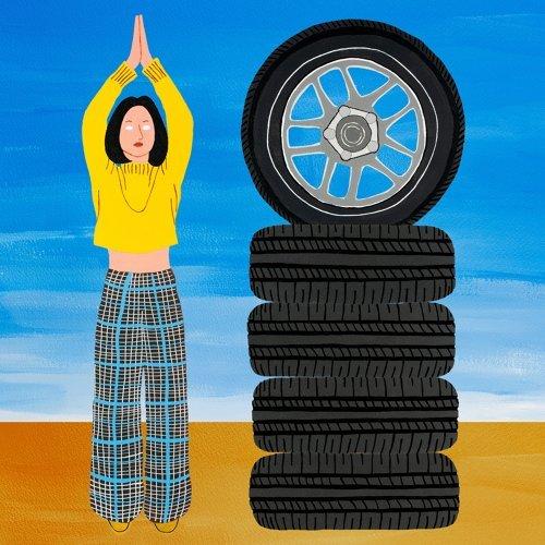 備胎 (spare tire)