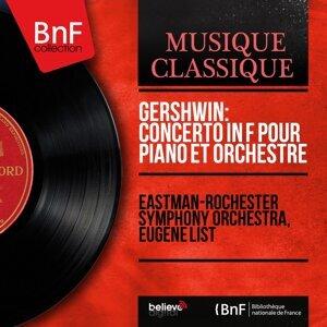 Gershwin: Concerto in F pour piano et orchestre - Mono Version