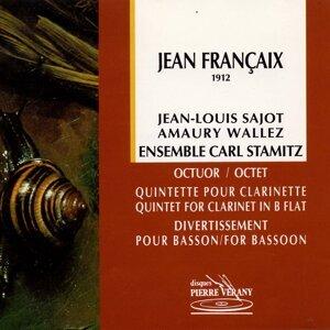 Francaix : Octuor, quintette & divertissement