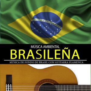 Música Ambiental Brasileña. Música de Fondo de Brasil Con Guitarra Flamenca