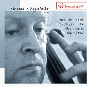 Zagorinsky plays Kapustin, Telemann, Bach.