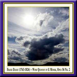 Franz Danzi: Wind Quintet in G Minor, Op. 56 No. 2 for Flute, Oboe, Clarinet, French Horn & Bassoon / Bläserquintett in G-Moll Op.56 Nr.2