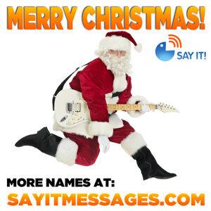 Merry Christmas Girls Names Vol. VII