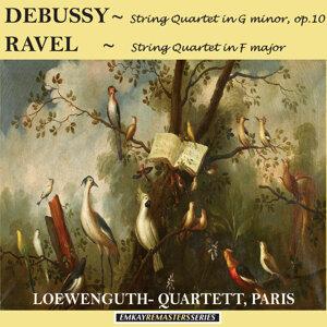 Debussy: String Quartet in G minor, Op. 10 - Ravel: String Quartet in F major (Remastered)