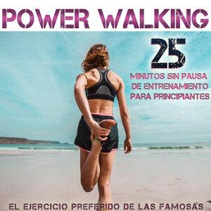 Power Walking. El Ejercicio Preferido de las Famosas. 25 Minutos Sin Pausa de Entrenamiento para Principiantes
