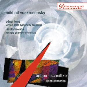 Britten, Schnittke. Piano concertos