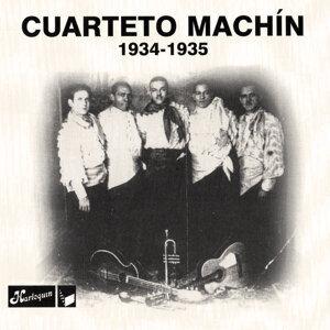 Cuarteto Machín, 1934 - 1935