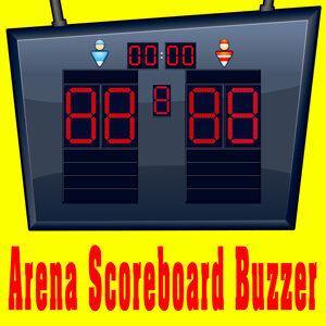 Arena Scoreboard Buzzer (Alert Tone)