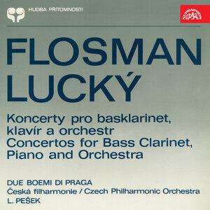 Flosman & Lucký: Concertos for Bass Clarinet, Piano and Orchestra
