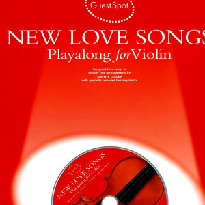 Playalong for Violin: New Love Songs