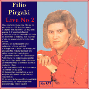 Filio Pirgaki Live No. 2