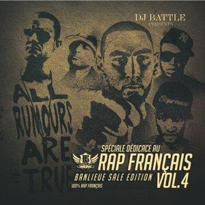 Spéciale dédicace au rap Français, Vol. 4 (Best of 2011) [Banlieue sale édition]
